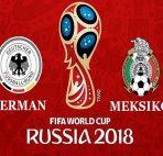 Agen Bola Indonesia - Prediksi Jerman vs Meksiko ( Piala Dunia 2018 )