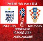 Agen Bola BCA - Prediksi Inggris vs Kroasia ( Semifinal Piala Dunia 2018 )