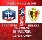 Agen Bola BRI - Prediksi Perancis vs Belgia ( Semifinal Piala Dunia 2018 )